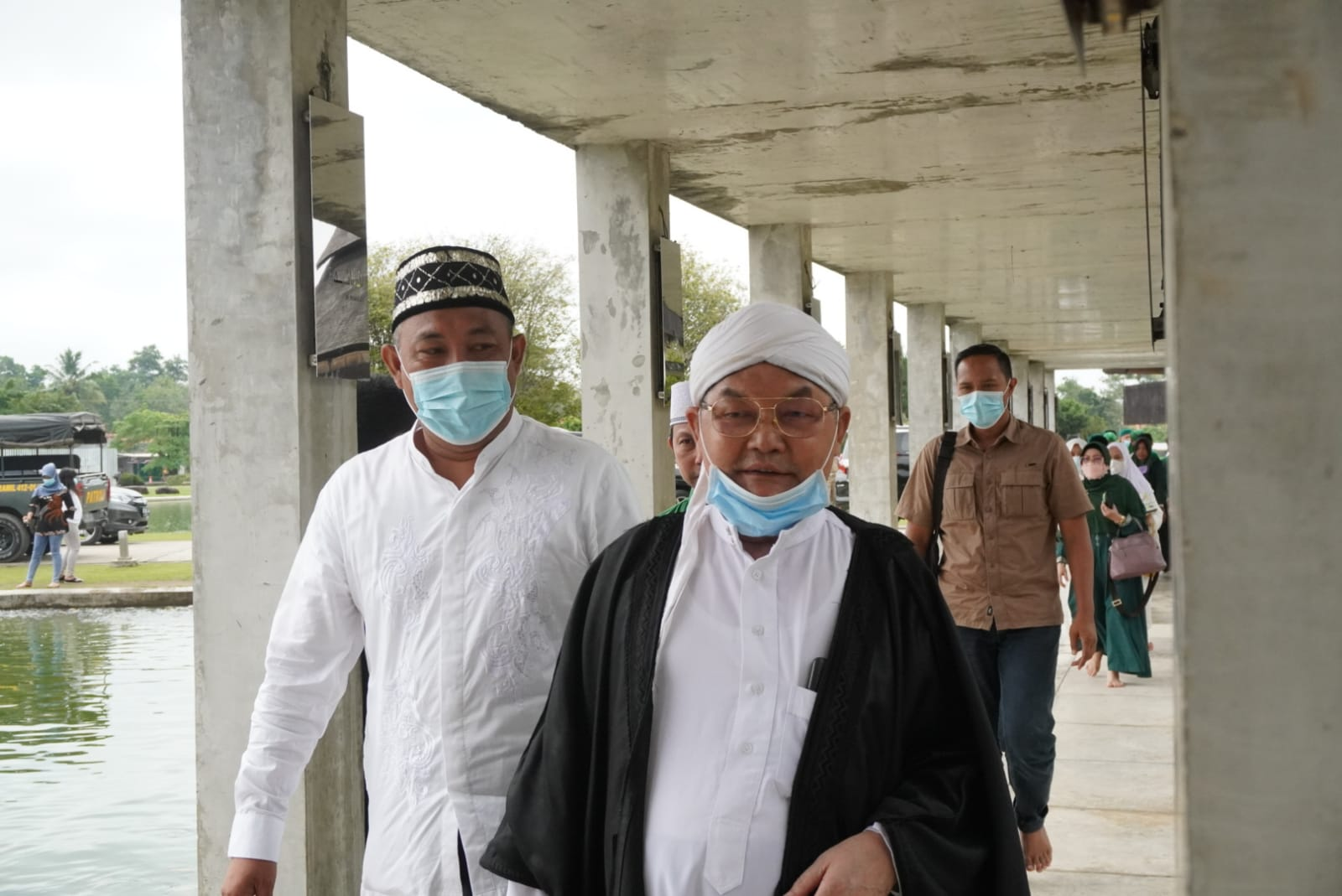 HUT Ke-12 Tubaba Di Tengah Pandemi Warga Lakukan Do'a Serentak